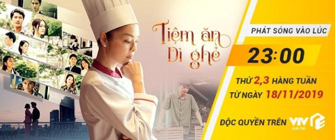 Phim Tiệm Ăn Dì Ghẻ - Việt Nam VTV3 2019